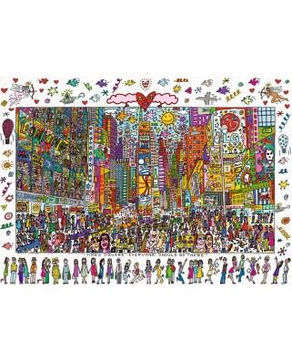 Puzzle Ravensburger - Rizzi James: Times Square, 1.000 piese (19069)