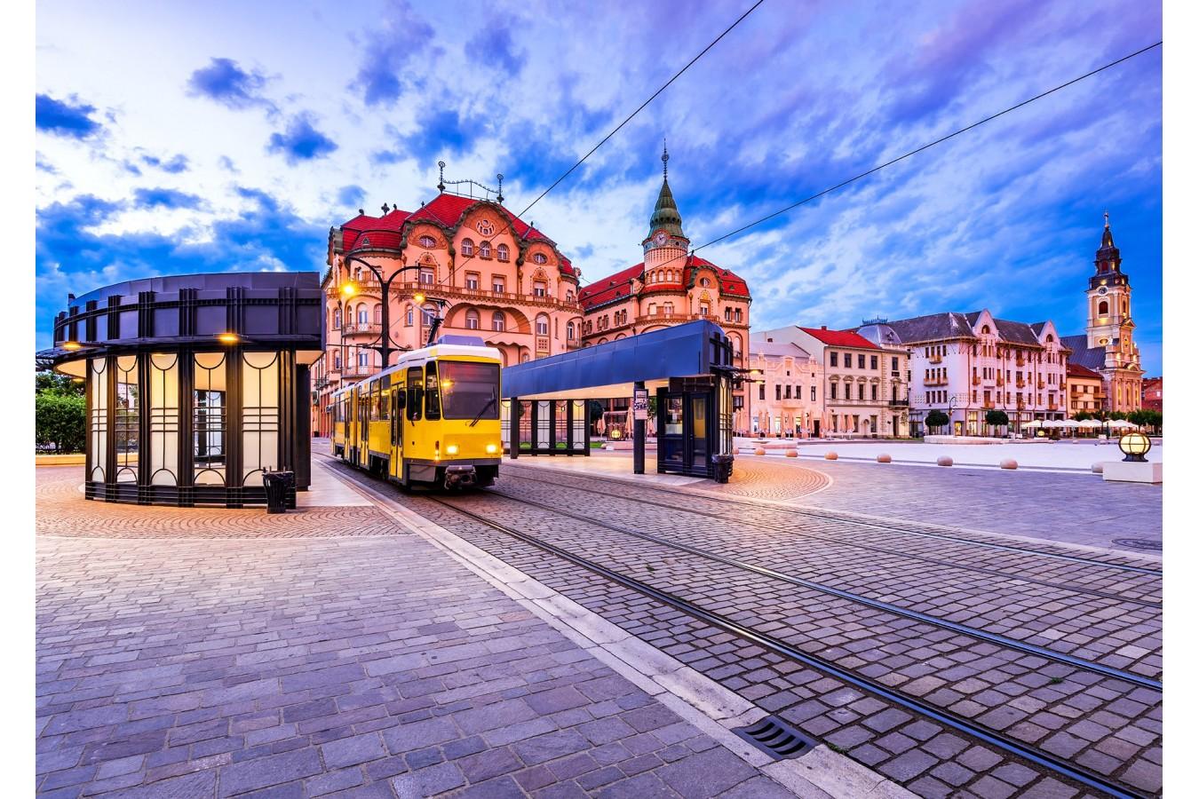 Puzzle 1000 piese - Piata Unirii, Oradea (Enjoy-1038)