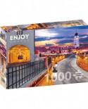Puzzle 1000 piese - Piata Mica, Sibiu (Enjoy-1041)