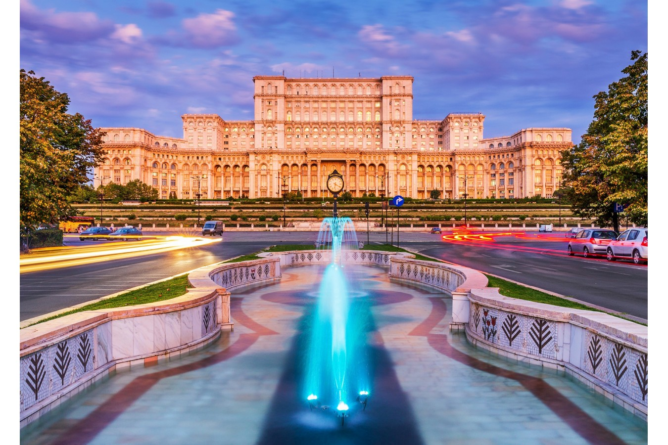 Puzzle 1000 piese - Palace of the Parliament, Bucharest (Enjoy-1044)