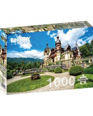 Puzzle 1000 piese - Castelul Regal, Sinaia (Enjoy-1047)