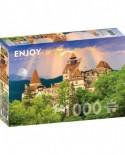 Puzzle 1000 piese - Castelul lui Dracula, Bran (Enjoy-1050)