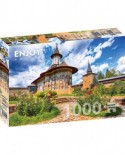 Puzzle 1000 piese - Sucevita Monastery, Suceava (Enjoy-1059)