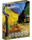 Puzzle 1000 piese - Vincent Van Gogh: Cafe Terrace at Night (Enjoy-1101)
