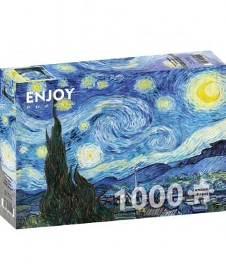 Puzzle 1000 piese - Vincent Van Gogh: Starry Night (Enjoy-1104)