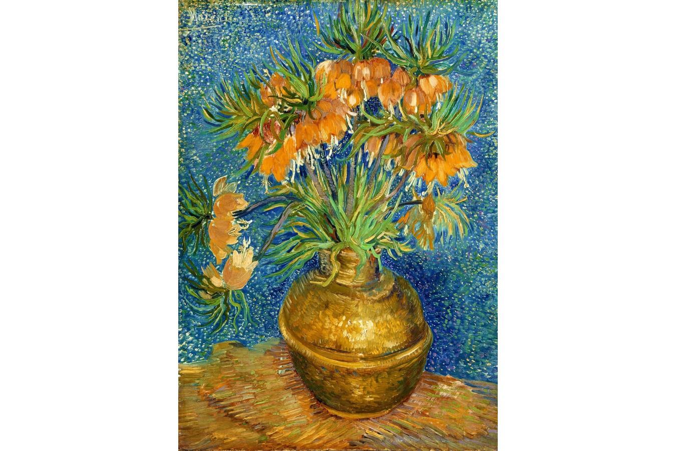 Puzzle 1000 piese - Vincent Van Gogh: Fritillaries in a Copper Vase (Enjoy-1113)