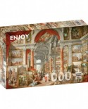 Puzzle 1000 piese - Paolo Panini: Views of Modern Rome (Enjoy-1119)