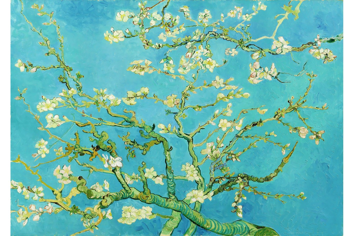 Puzzle 1000 piese - Vincent Van Gogh: Almond Blossom (Enjoy-1125)