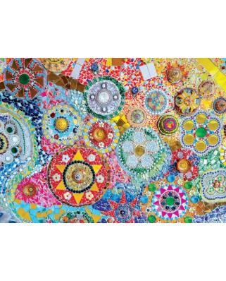 Puzzle 1000 piese - Thai Mosaic (Eurographics-6000-5637)