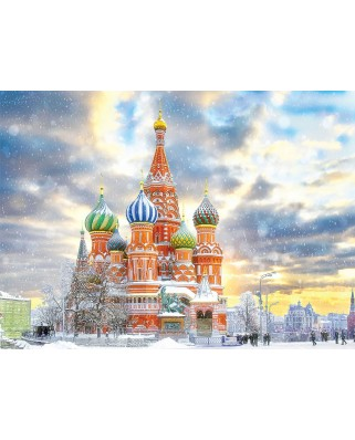 Puzzle 1000 piese - Saint Basil's Cathedral, Moscow (Eurographics-6000-5643)