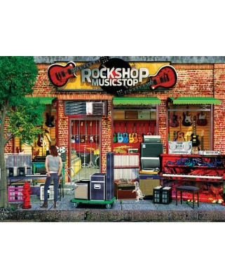 Puzzle 1000 piese - Paul Normand: Rock Shop (Eurographics-6000-5614)