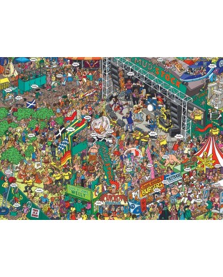 Puzzle 500 piese XXL - Martin Berry: Oops! (Eurographics-6500-5459)