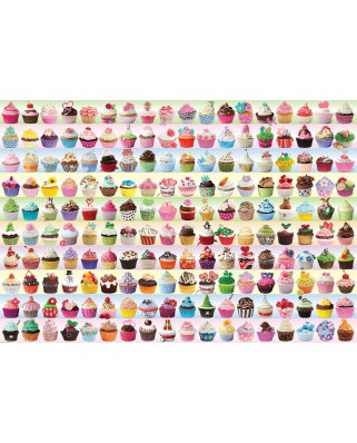 Puzzle 2000 piese - Cupcakes Galore (Eurographics-8220-0629)