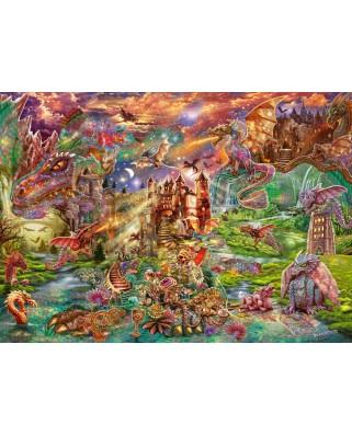 Puzzle 2000 piese - Dragon's Teasure (Schmidt-58971)