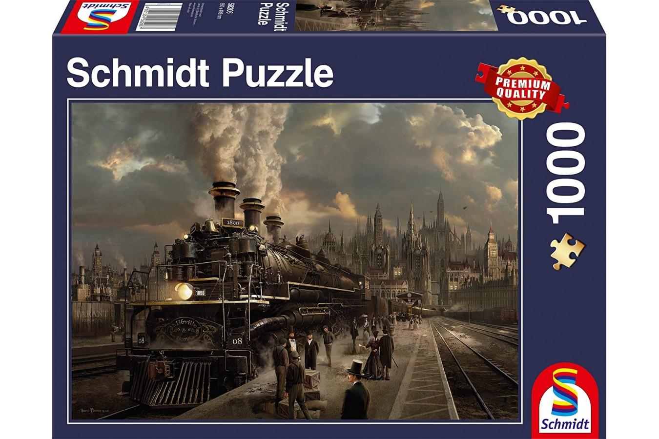 Puzzle Schmidt - Locomotiva, 1000 piese (58206)