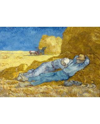 Puzzle 1000 piese - Vincent Van Gogh: The Siesta (after Millet), 1890 (Bluebird-60115)