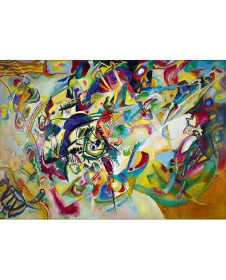 Puzzle 1000 piese - Vassily Kandinsky: Impression VII, 1912 (Bluebird-60120)