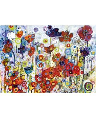 Puzzle 1000 piese - Sally Rich: Poppies (Bluebird-60121)