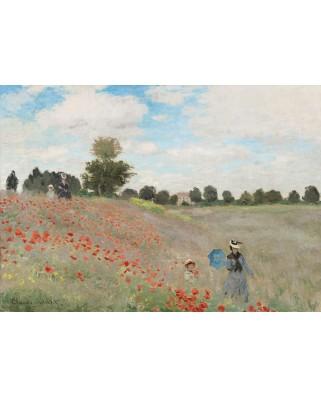 Puzzle 1000 piese - Claude Monet: Poppy Field, 1873 (Bluebird-60122)