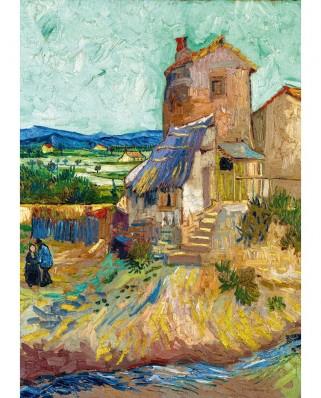 Puzzle 1000 piese - Vincent Van Gogh: La Maison de La Crau (The Old Mill), 1888 (Art-by-Bluebird-60123)