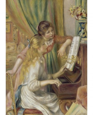 Puzzle 1000 piese - Auguste Renoir: Young Girls at the Piano, 1892 (Bluebird-60126)
