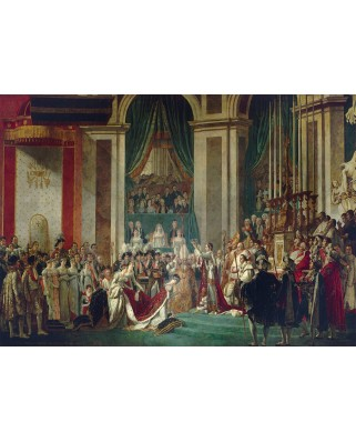 Puzzle 1000 piese - Jacques-Louis David: The Coronation of the Emperor and Empress, 1805-1807 (Bluebird-60128)