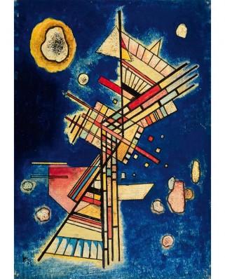 Puzzle 1000 piese - Vassily Kandinsky: Dunkle Kuhle (Fraicheur sombre), 1927 (Bluebird-60131)