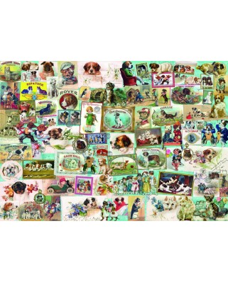 Puzzle 1500 piese - Dogs (Bluebird-70469)