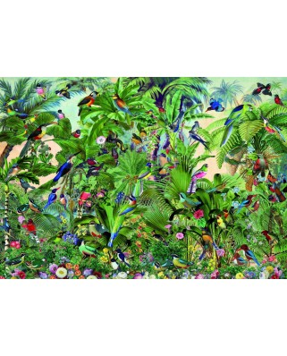 Puzzle 1500 piese - Birds (Bluebird-70473)