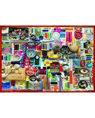 Puzzle 1000 piese - Sewing Kit (Bluebird-70479)