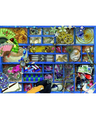 Puzzle 1000 piese - Blue Collection (Bluebird-70481)