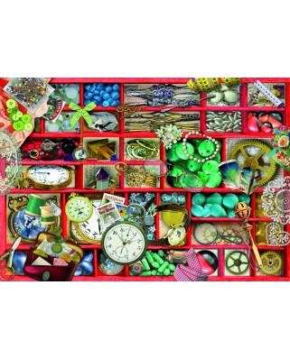 Puzzle 1000 piese - Red Collection (Bluebird-70482)