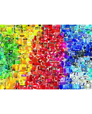 Puzzle 1000 piese - Coloured Things (Bluebird-70484)