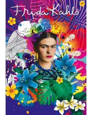 Puzzle 1500 piese - Frida Kahlo (Bluebird-Puzzle-70491)