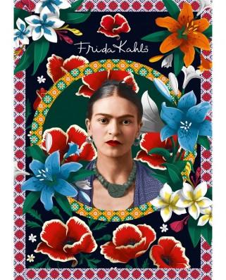 Puzzle 2000 piese - Frida Kahlo (Bluebird-Puzzle-70492)