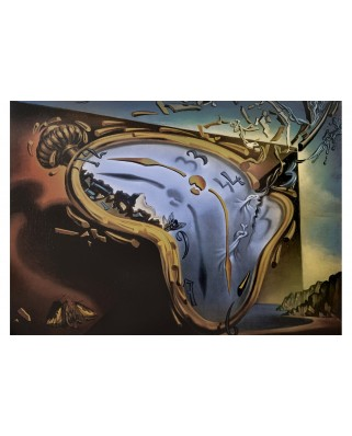 Puzzle 1000 piese - Salvador Dali: Soft Watch Exploding in 888 Particles after Twenty Years (Art-by-Bluebird-60104)