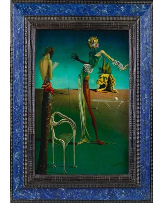Puzzle 1000 piese - Salvador Dali: Woman with Head of Roses, 1935 (Art-by-Bluebird-60106)