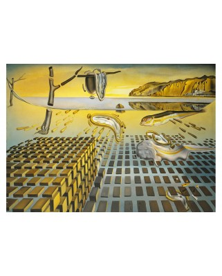 Puzzle 1000 piese - Salvador Dali: The Corpuscular Persistence of Memory, 1952-1954 (Art-by-Bluebird-60111)