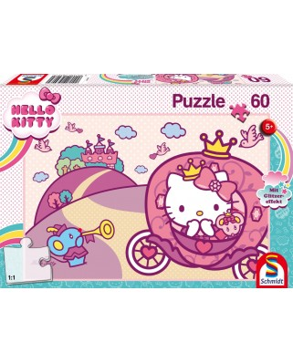 Puzzle 60 piese - Printesa Kitty (Schmidt-56407)