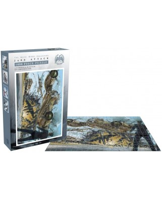 Puzzle 1000 piese - JU 88 Attack (Zee-26236)