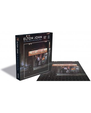 Puzzle 500 piese - Elton John - Dont Shoot me I'm Only the Piano Player (Zee-25151)