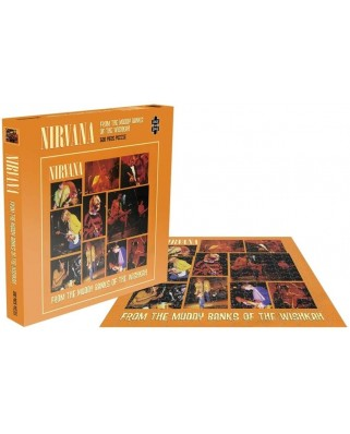 Puzzle 500 piese - Nirvana - From The Muddy Banks Of The Wishkah (Zee-26177)