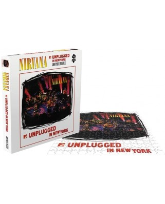 Puzzle 500 piese - Nirvana - Unplugged (Zee-26176)
