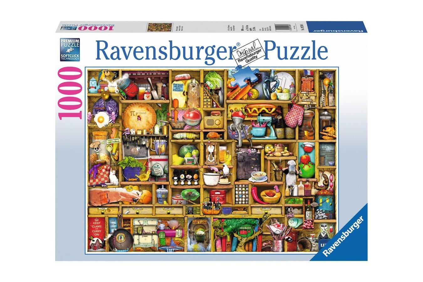 Puzzle Ravensburger - Colin Thompson: Dulap De Bucatarie, 1.000 piese (19298)