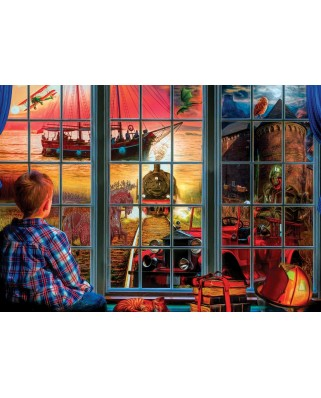 Puzzle 260 piese - The World Inside (Art-Puzzle-4044)