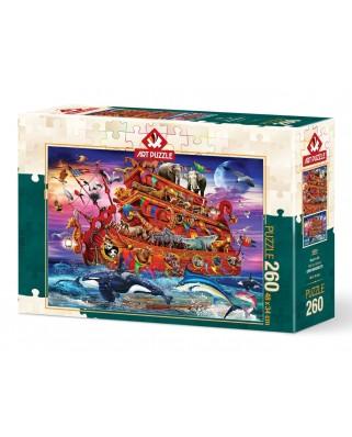 Puzzle 260 piese - Noah's Ark (Art-Puzzle-5024)