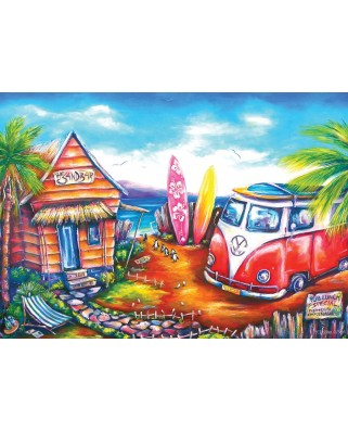 Puzzle 260 piese - Surf Camp (Art-Puzzle-5027)