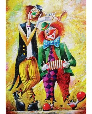 Puzzle 260 piese - Musician Clowns (Art-Puzzle-5030)