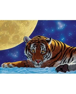 Puzzle 500 piese - Schimmel William: Moon Tiger (Art-Puzzle-5072)