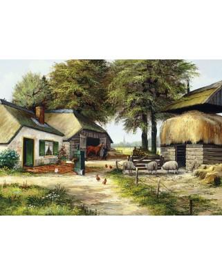 Puzzle 1000 piese - Farm House (Art-Puzzle-5181)